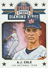 2015 USA Baseball Stars and Stripes Diamond Kings #8 A.J. Cole
