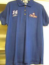 Nascar Tony Stewart #14 Old Spice Women's Large SS Shirt $65 XLNT