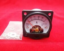 1PC DC 0-1A Analog Ammeter Panel AMP Current Meter SO45 Cutout 45mm
