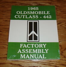 1965 Oldsmobile Cutlass 442 Factory Assembly Manual 65