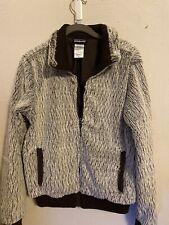 Patagonia Zip Up Microfiber Faux Fur  Jacket, Women's Size Medium