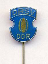 old EAST GERMANY RUGBY Union PIN BADGE DDR Deutschland DRSV rare