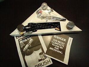 Badger Crescendo AirBrush Kit Model No. 175-7 New, Open Box
