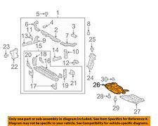 Scion TOYOTA OEM tC Under Radiator/Engine-Cover Splash Shield Right 5144121030