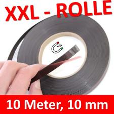 Magnetoplan Magnetleiste weiß 35 mm x 5m selbstklebend Magnet Klebeband