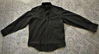 NEW! BUGATCHI UOMO CLASSIC FIT Gray Men's L/S Casual/Dress Shirt Size Medium