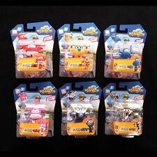 Super Wings Mini Hogi-Jett Donnie Jerome Dizzy Bello Paul Transforming 6-figures