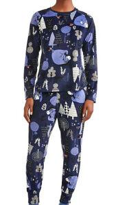Disney Eeyore Winnie The Pooh Soft Plush Velour Pajama Set Plus Size 2X 18/20
