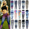 Women Gym Sport Workout High Waist Yoga Fitness Leggings Stretch Trousers Pants