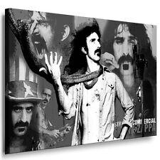 Bild auf Leinwand Frank Zappa Kunstdruck Wandbild Gemälde - Poster Bilder Deko
