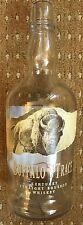 Buffalo Trace Bourbon Whiskey - Empty Unusual Whiskey Whisky Bottle - FREEPOST