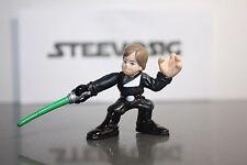 Star Wars Galactic Heroes Luke Skywalker ROTJ Duel Green Saber