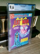 "1986 CGC 9.6 DC ~ Batman Annual #10 Comic Book ~ ""The Triumph of Hugo Strange"""
