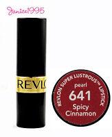 REVLON Super Lustrous Lipstick Pearl #641 SPICY CINNAMON