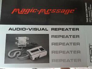 Magic Message Audio Visual Repeater