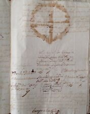 FIRMA REAL, CARLOS II, VALENCIA.  duque de Sanlucar la Mayor, 1700