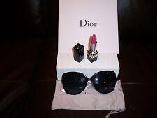 Christian Dior Envol 2 Sunglasses Frames Black Pink Gift Set w/Dior Lipstick