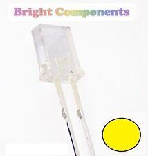 10 x Rectangle Yellow LED 2x3x4mm - 1st CLASS POST - UK