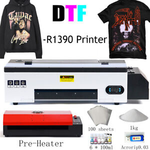 DTF Flatbed Printer Tshirt Personal DIY Printer for Home Business with Heater