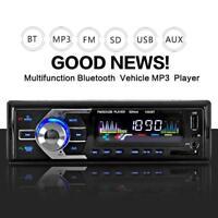 Car Bluetooth In-Dash Radio Stereo Audio Head Unit MP3 Player FM U Disk AUX-IN