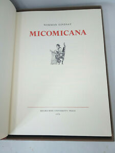 Norman Lindsay MICOMICANA Signed by Jane Ltd Edition Reprint Calf Bound Boxed