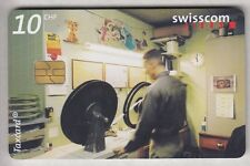 EUROPE  TELECARTE / PHONECARD .. SUISSE 10FCH MOMENTS 23H CINEMA 12/03 CHIP/PUCE
