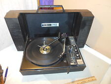 VINTAGE TURNTABLE MID-CENTURY EMERSON WILDCAT DS-50 SUITCASE RECORD PLAYER BSR