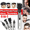 Electric Rechargeable Beard Eyebrow 4 in 1 Ear Nose Hair Clipper Shaver Trimmer