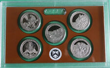 2012 America the Beautiful ATB Proof Quarters 5 Coin Only No Box US Parks Coins