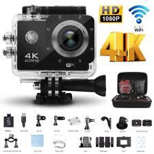 4K Full HD WiFi Sport Aktion kamera Cam wasserdicht 30 fps 16MP as Go pro SJ4000