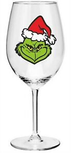 x12 Christmas Grinch Wicked Wine Glass/ Bauble/ Craft Printed Vinyl Stickers