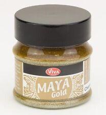 Maya-Gold Effektfarbe Dose 50 ml champagner metallic Viva-Decor 123210234