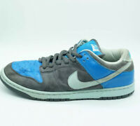NIKE DUNK LOW PRO SB AQUA CHALK 2006 MEN's Size 11.5 BLUE GREY 304292-032 RARE