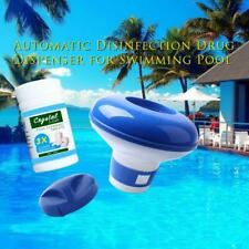 100 Tabletas de Limpieza de Piscina Tableta Dispensador de productos químicos para jacuzzi Cloro Flotante
