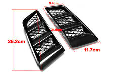New Universal RR Type Hood Vents Scoop Bonnet Air Vents Air Flow Vent Duct