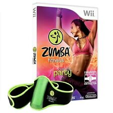 Nintendo Wii Spiel - Zumba Fitness nach Wahl + Hüftgürtel (mit OVP)