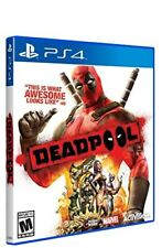 DEADPOOL PLAYSTATION 4 PS4 VIDEO GAME BRAND NEW USA VERSION SEALED IN CASE
