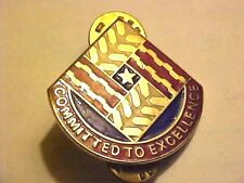 US Military Tank Automotive Command DI DUI Pin Clutchback Crest Medal Badge G492