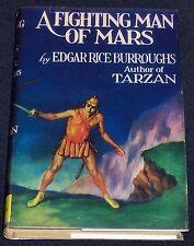 A FIGHTING MAN OF MARS Edgar Rice Burroughs 1948 ERB, INC. Facsimile Dust Jacket