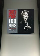 EDITH PIAF - 100 HITS - 4 CDS - NEW!!