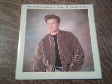 45 tours rick astley she wants to dance with me