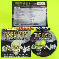 CD SFX TERROR & MISTERY 99 SOUND EFFECTS PRISM LEISURE PLATCD 504 (C10) mc lp