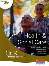 OCR National Level 2 Health and Social Care Student Book by Steve Seamons, Marj…