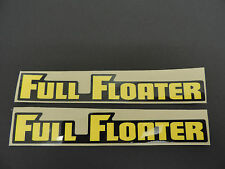 1983 1984 1985 SUZUKI RM 80 FULL FLOATER SWINGARM DECAL SET Vintage Motocross