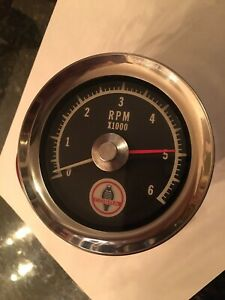 65 66 Ford Cobra Tach 6,000 RPM Shelby GT350 Mustang Fairlane Ranchero Torino GT