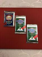 (1) 1989 Upper Deck Baseball Low Number Series + (2) 1990 Packs Ken Griffey Jr