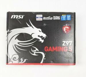 NEW MSI Z97 Gaming 5 LGA1150 Intel Motherboard