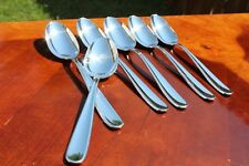 Christofle Dax Silver Plated Table Spoons Set of Six