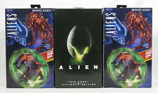 Lot 3 NECA Reel Toys Alien Action Figures Big Chap Ultimate Edition Rhino NEW