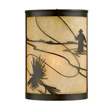 Vaxcel Mayfly 8' Outdoor Wall Sconce , Burnished Bronze - T0114